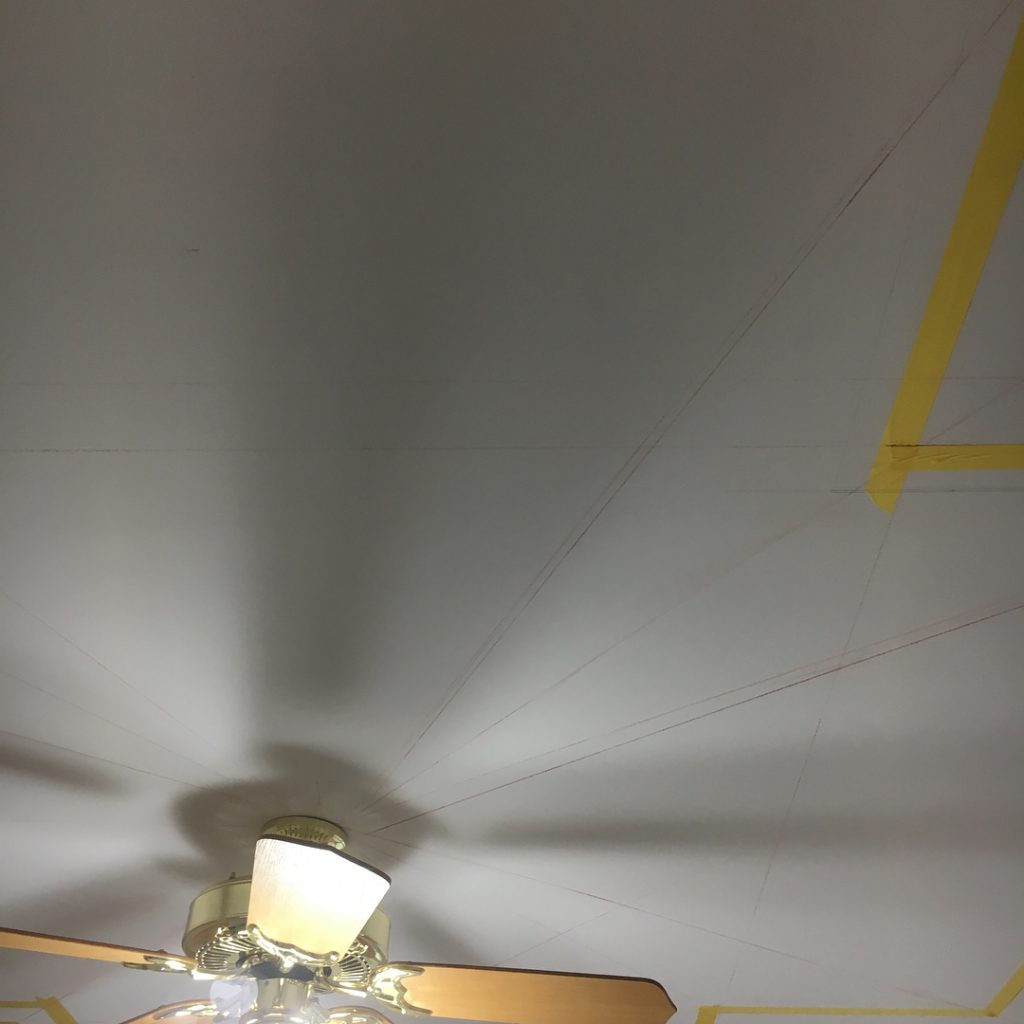 ceiling to be painted