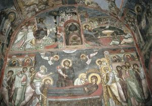 A mural from the byzantine period